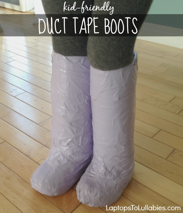 Easy diy duct tape boots perfect for halloween costumes keira boots there are so many possibilities for these kind of boots though superhero costumes action figure costumes ginger spice costumes those red solutioingenieria Choice Image