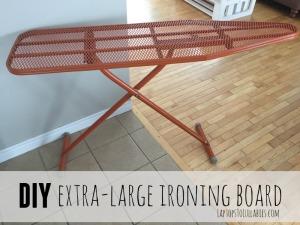 Oversized ironing board tutorial