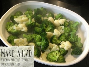 Make-ahead Chicken Broccoli Divan