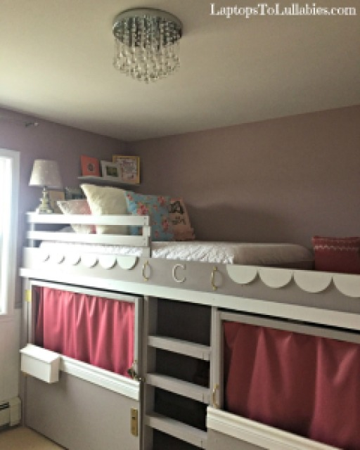 Diy Loft Bed Playhouse And Reading Nook Heather S