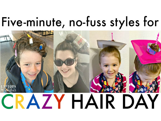 Easy Hairstyles For Crazy Hair Day
