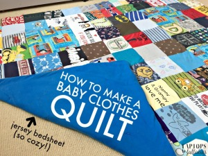 Quilts from baby clothes Heather s Handmade Life