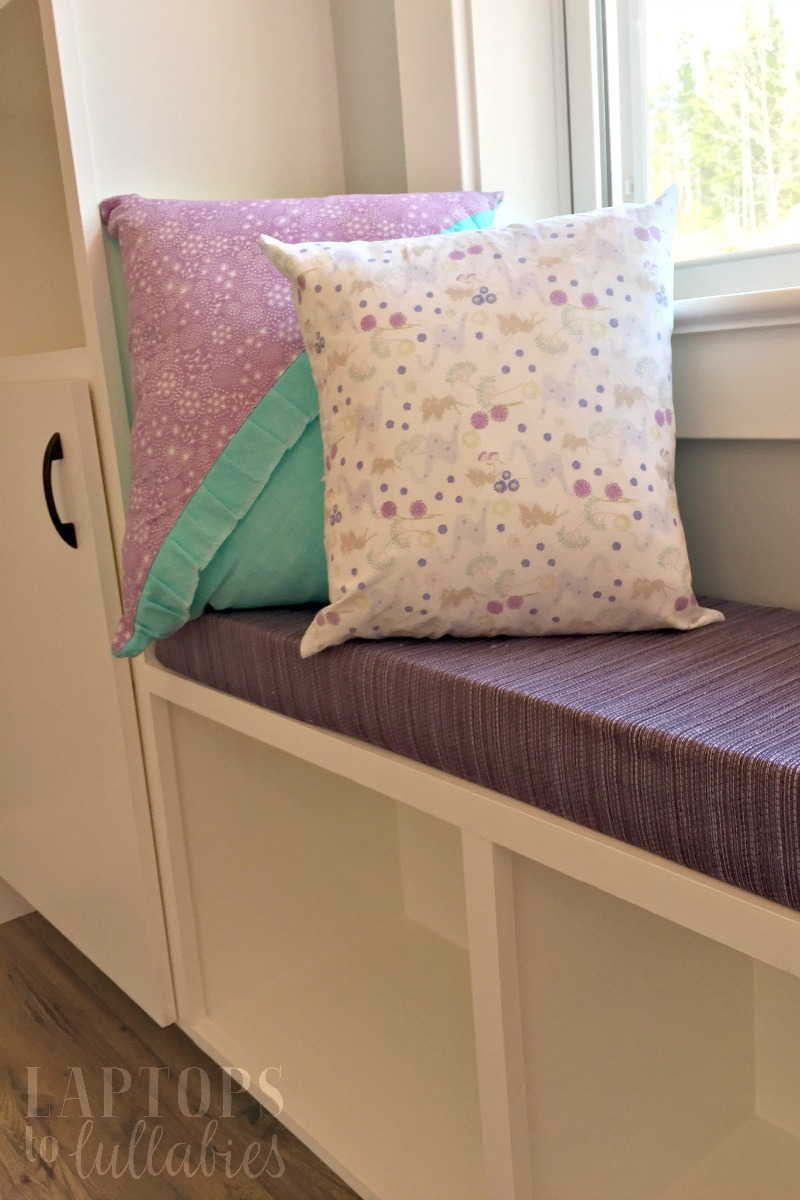 Diy Bench Cushions For Built Ins Heather 39 S Handmade Life