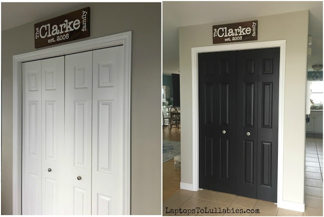 Converting Our Bi Fold Closet Doors To Double Doors Heathers